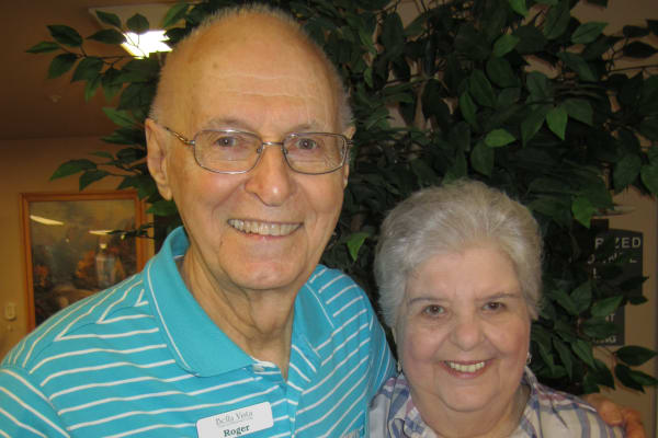 Janis & Roger Campbell at Bella Vista Gracious Retirement Living in Asheville, North Carolina