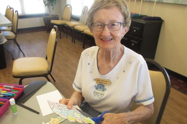 Mary L. Bissonette at Estrella Estates Gracious Retirement Living in Goodyear, Arizona