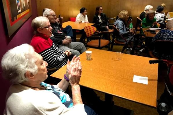 Residents Celebrating at All Seasons of West Bloomfield in West Bloomfield, MI
