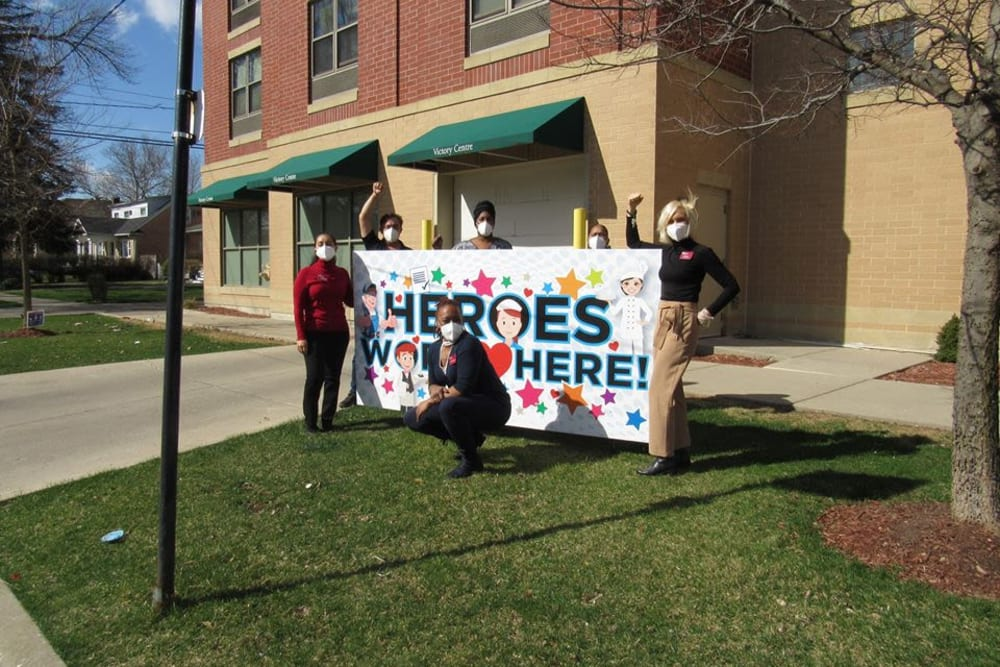 Heroes at Victory Centre of Galewood