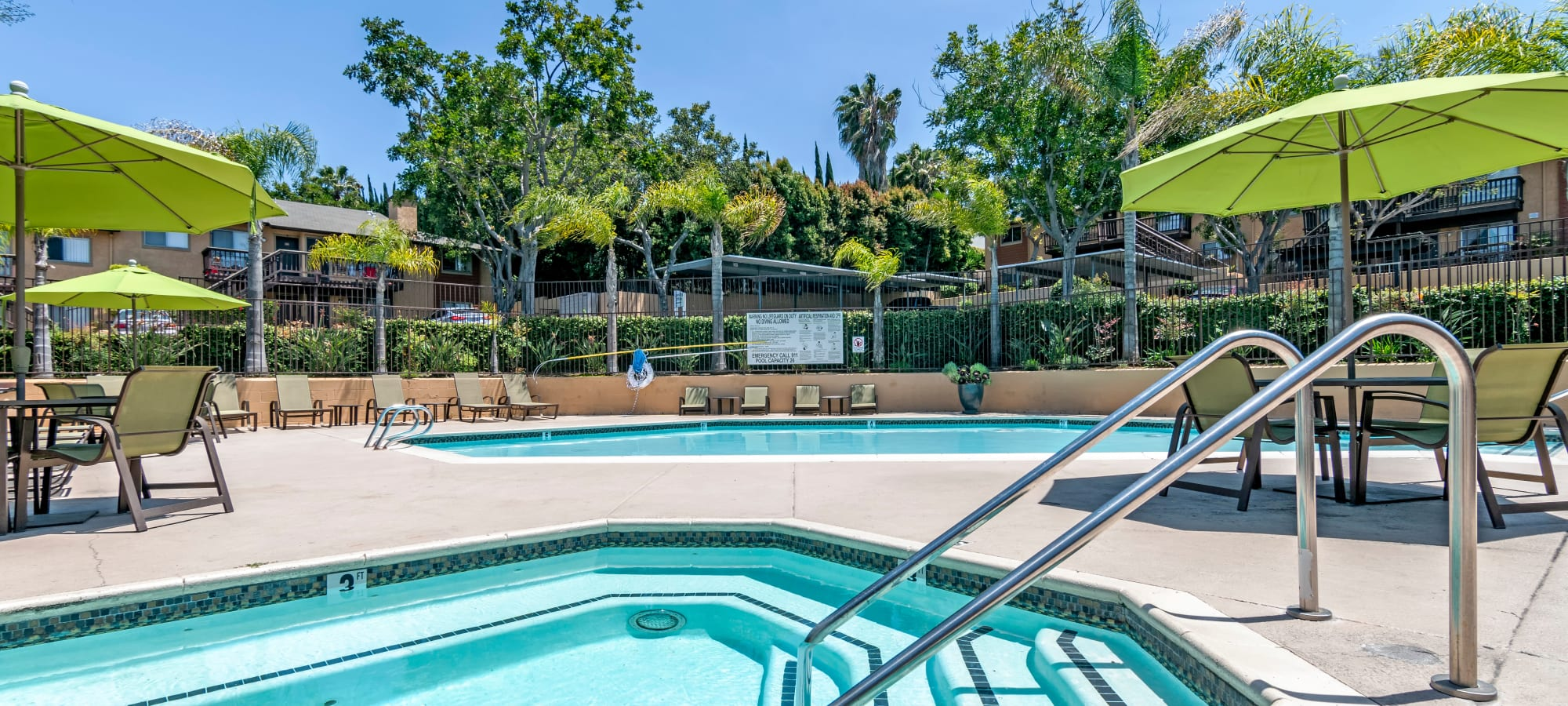 Lemon Grove, California at Hillside Terrace Apartments