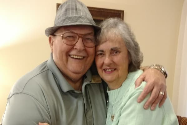 Wayne & Elizabeth Koller at Willow Creek Gracious Retirement Living in Chesapeake, Virginia