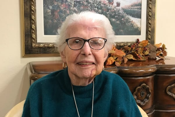 Marjorie Mortimer at Mulberry Gardens Assisted Living in Munroe Falls, Ohio