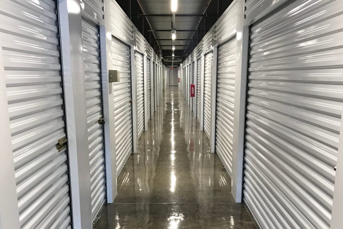 Climate-controlled storage units at Storage 365 in Colorado Springs, Colorado