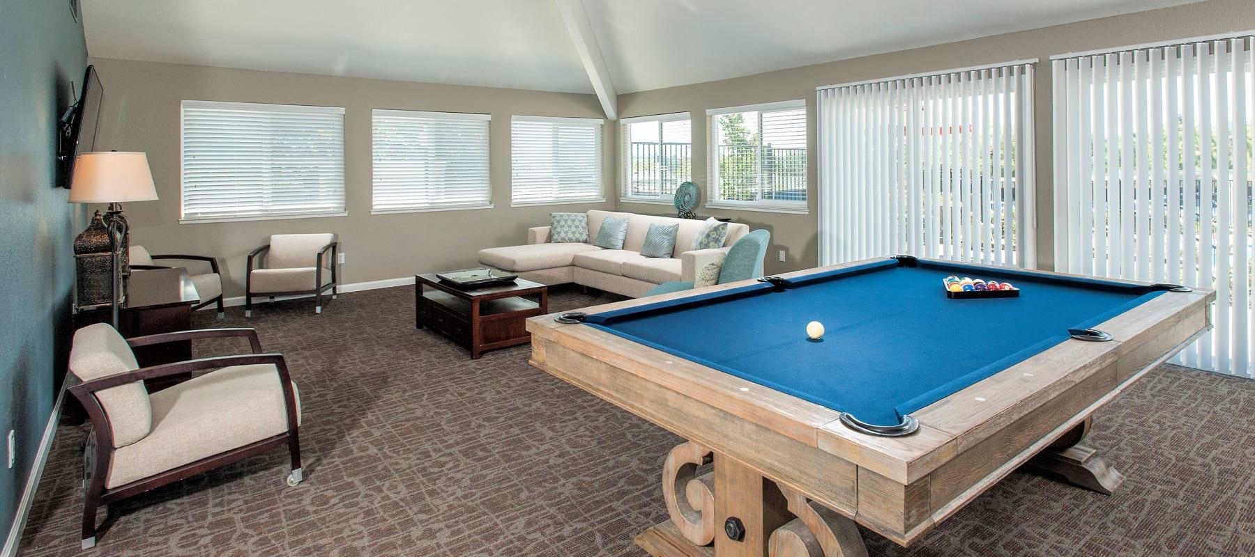 Billiards at Ridgecrest Apartment Homes in Martinez, CA