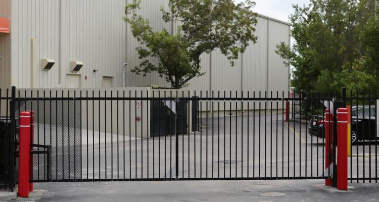 Exterior view of Midgard Self Storage in Key West, Florida