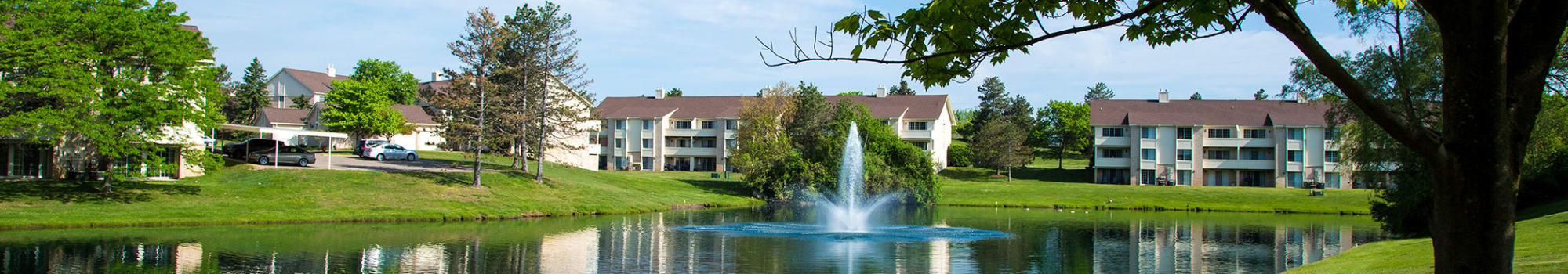 Amenities at Aldingbrooke in West Bloomfield, Michigan