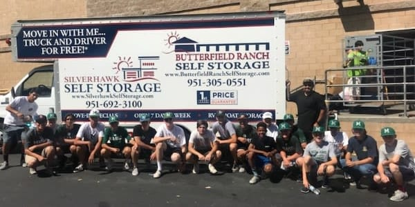 Butterfield Ranch Self Storage community giving