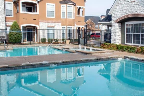 Pool at Stonehaven Villas in Tulsa, Oklahoma