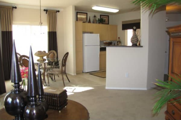 Naturally well-lit apartment interior at Broadstone Heights in Albuquerque, New Mexico