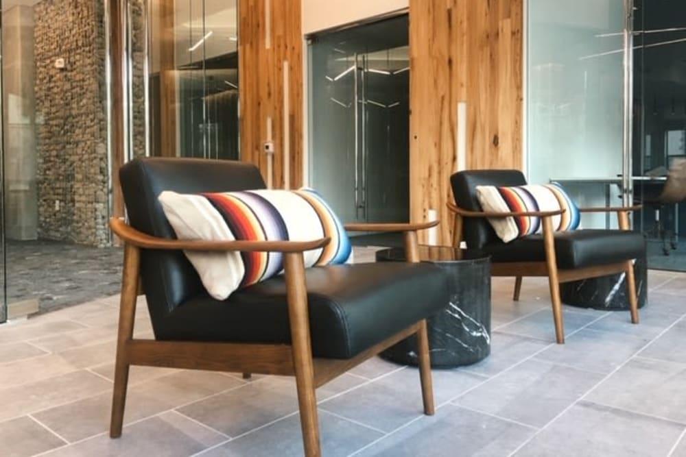 Comfortable lounge seating at  in San Antonio,TX