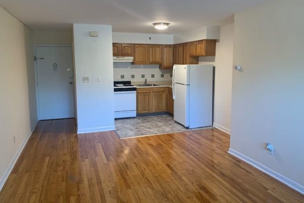 Kitchen layout at The Central House in Ridgefield Park, New Jersey