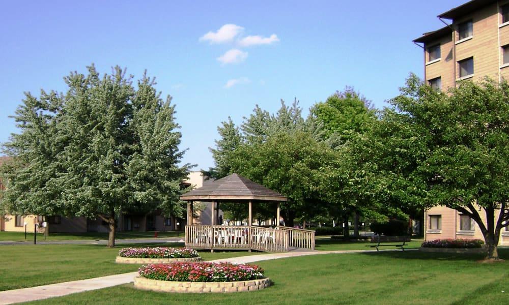 Beautiful gazebo at Cedar Ridge in Richton Park,IL