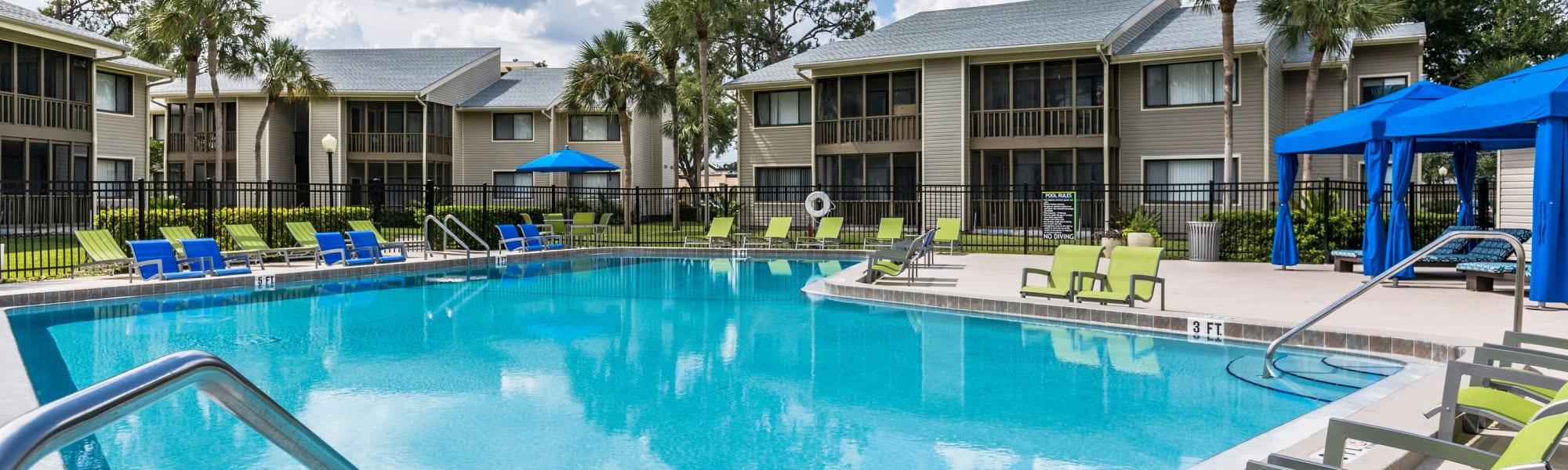 Virtual tours of Enclave at Lake Ellenor in Orlando, Florida