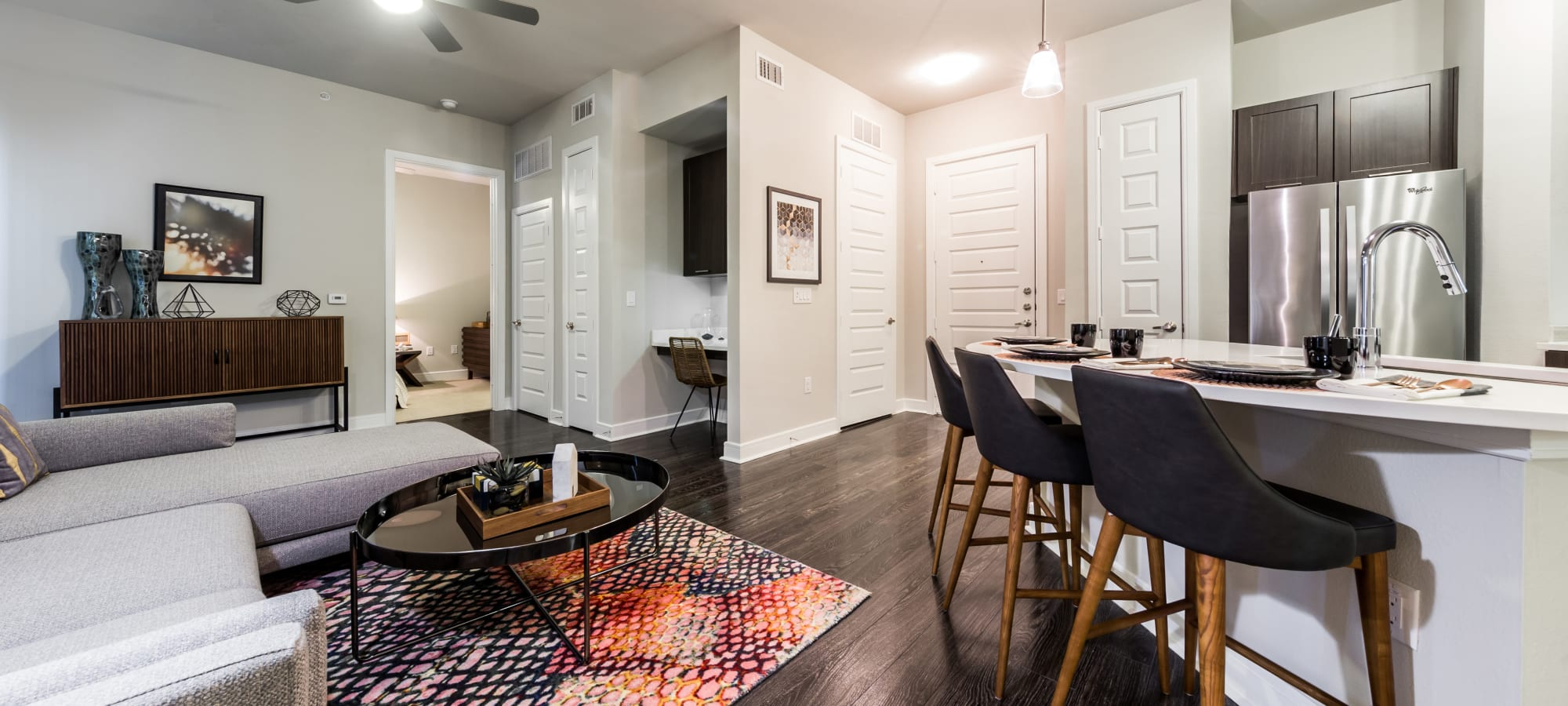 Floor plans at Marq 31 in Houston, Texas