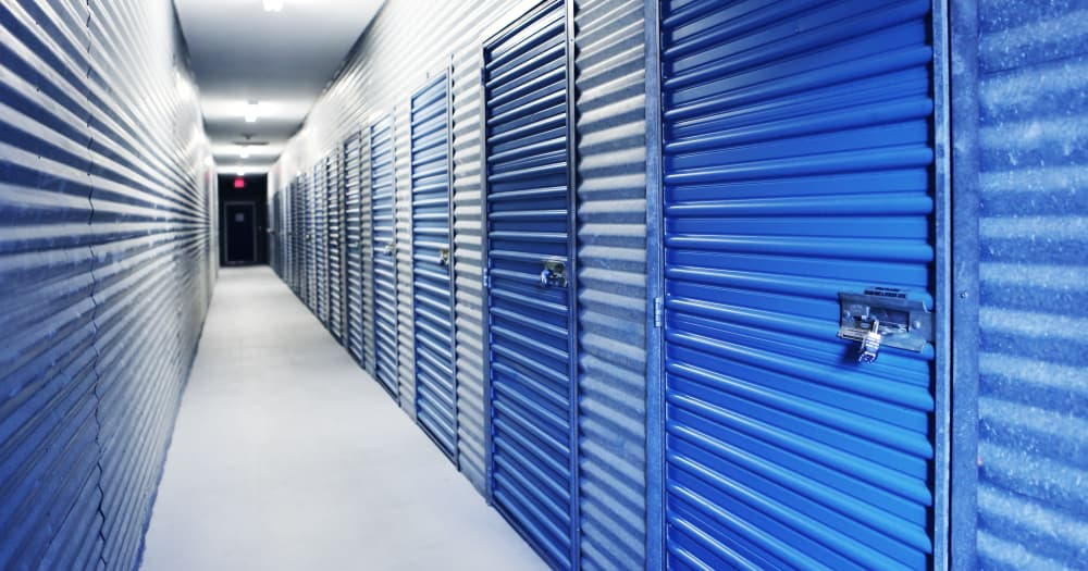 Storage units at Midgard Self Storage in Cocoa, Florida