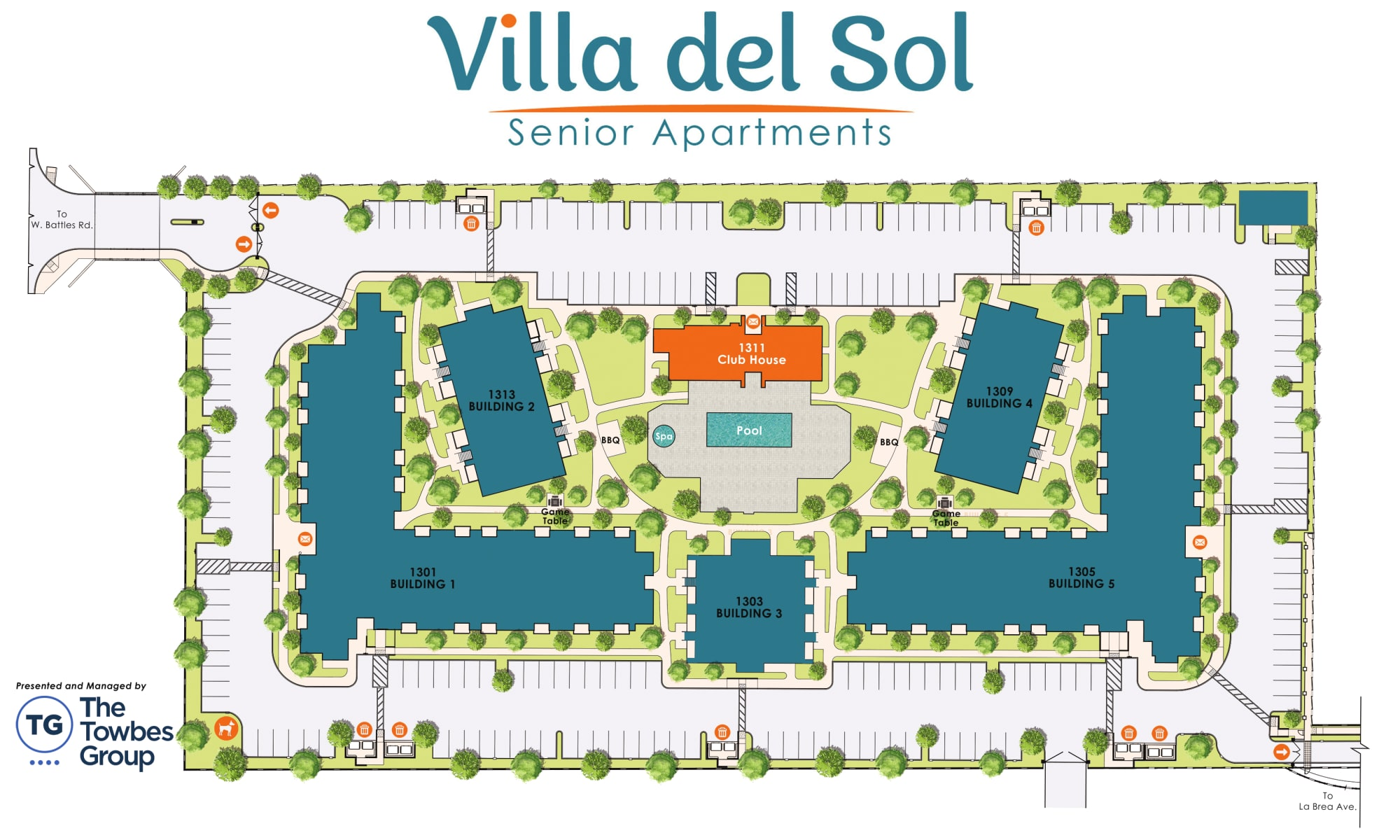 View our property map of Villa del Sol