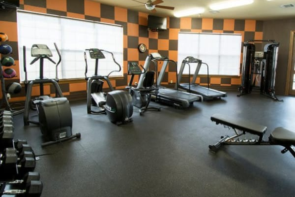 Gym at Stonehaven Villas in Tulsa, Oklahoma