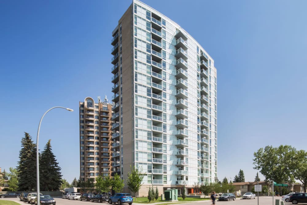 Exterior building view of Elata in Calgary, AB