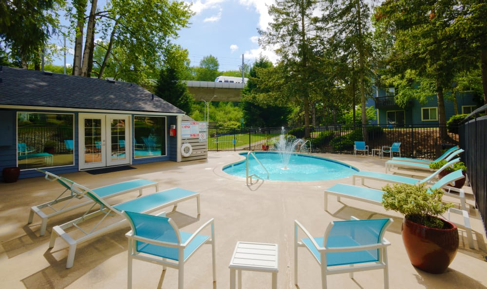 Our Apartments in Tukwila, Washington offer a Swimming Pool