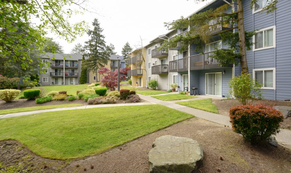 The Boulevard at South Station Apartment Homes in Tukwila, Washington exterior