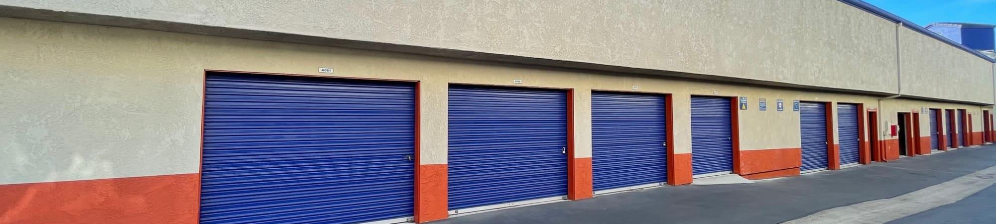 Storage Solutions storage units for rent in Capistrano Beach, California