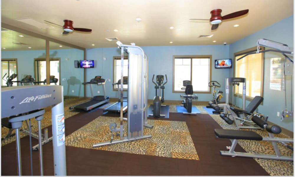 Stay healthy in our fitness center in Flagstaff, Arizona