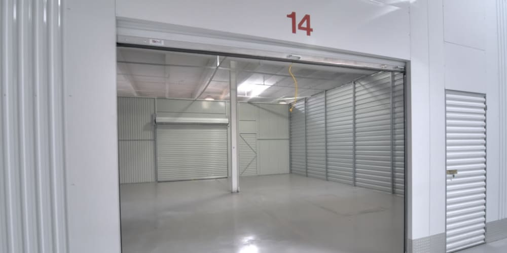 View the unit sizes and prices availavle at Atlantic Self Storage in Charlotte, North Carolina