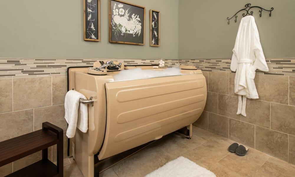 Spa Services at Forest Creek Memory Care