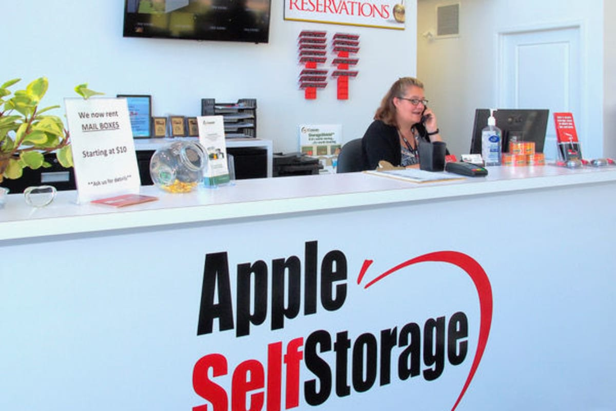 Hands together in support of our mission at Apple Self Storage, to earn your business in every market we serve