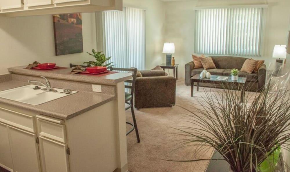 Large spacious living room in Van Nuys, CA