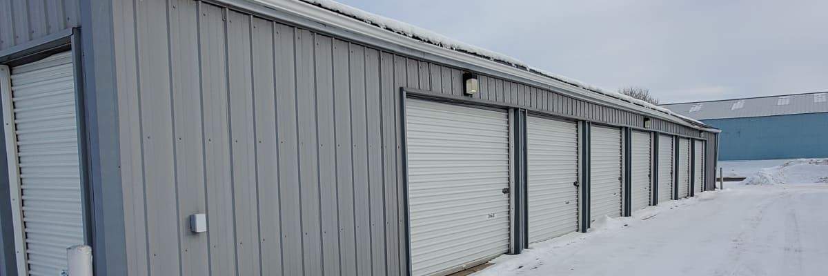 Unit size guide from KO Storage of Waseca 5th St in Waseca, Minnesota