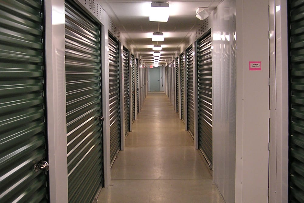 Interior units at Mansfield Self Storage in Mansfield, CT