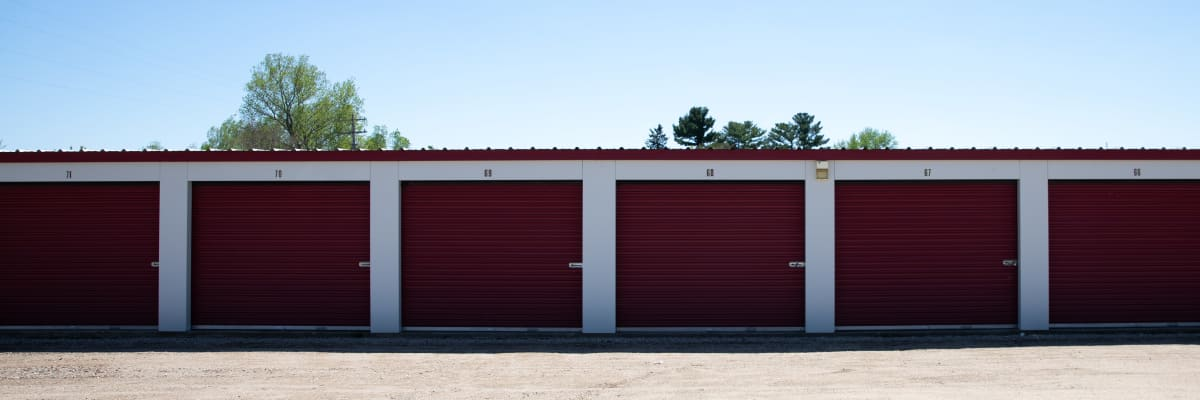 RV, boat, and auto atorage at KO Storage of Tomah - Superior Ave in Tomah, Wisconsin