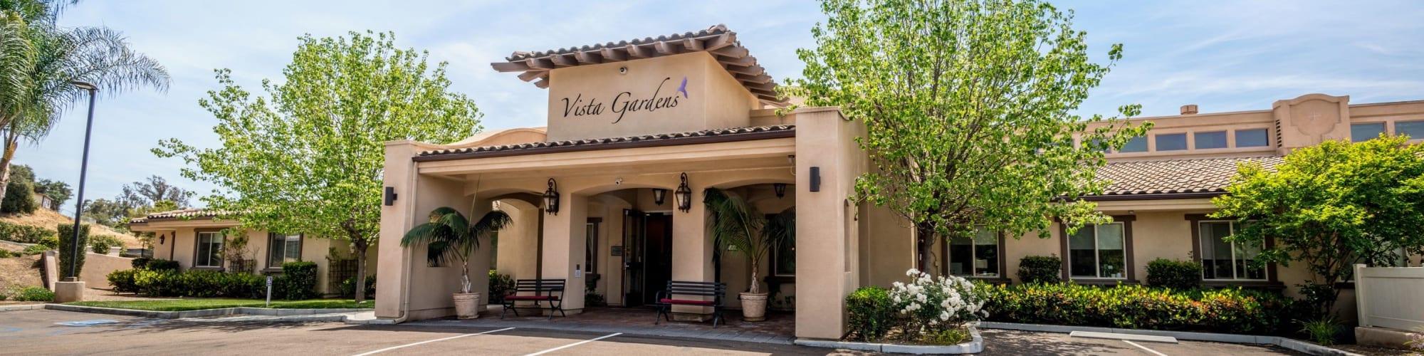 REVIEWS for Vista Gardens in Vista, California