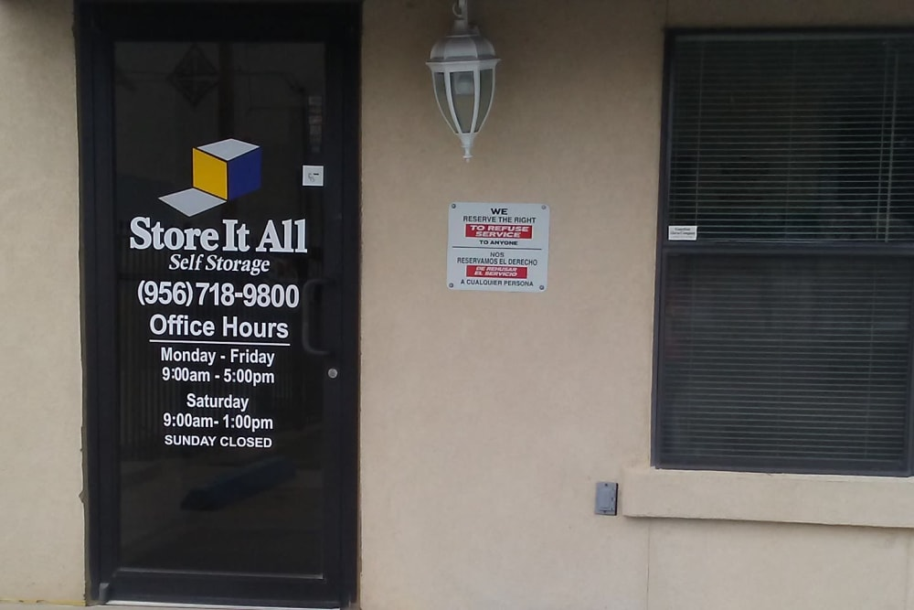 Office at Store It All Self Storage - Affordable in Laredo, TX