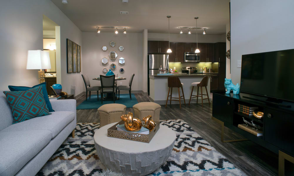 Open floor plans at Savannah Oaks in San Antonio, Texas