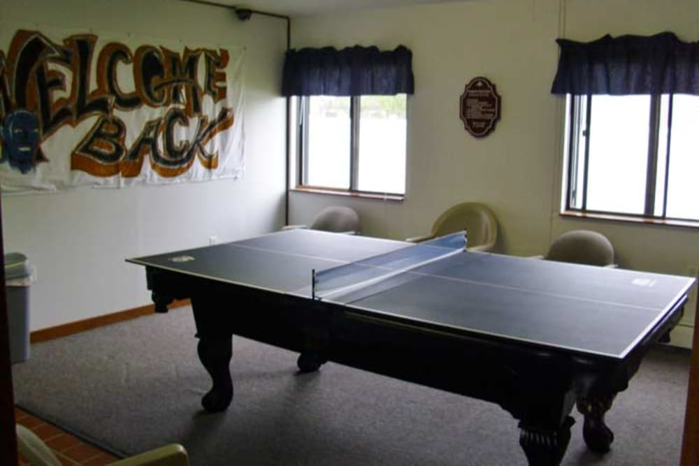 Table Tennis at Campus Edge at Brigham