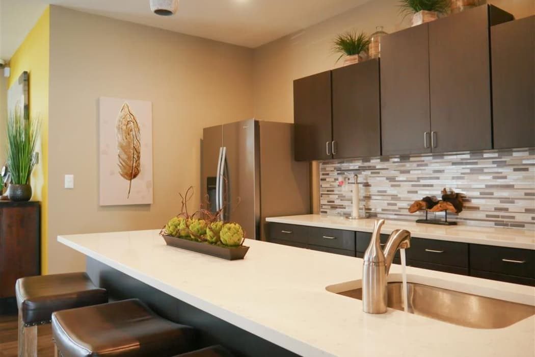 Luxury kitchen at Trails of Towne Lake in Irving, Texas