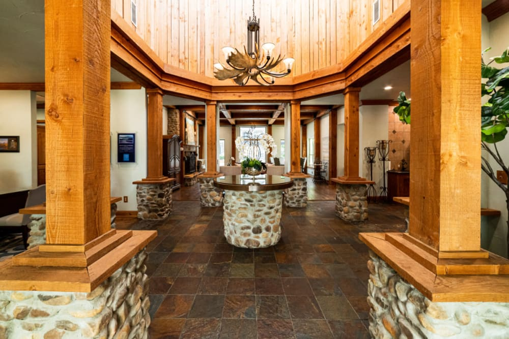 Clubhouse at Marquis at Lantana in Flower Mound, Texas