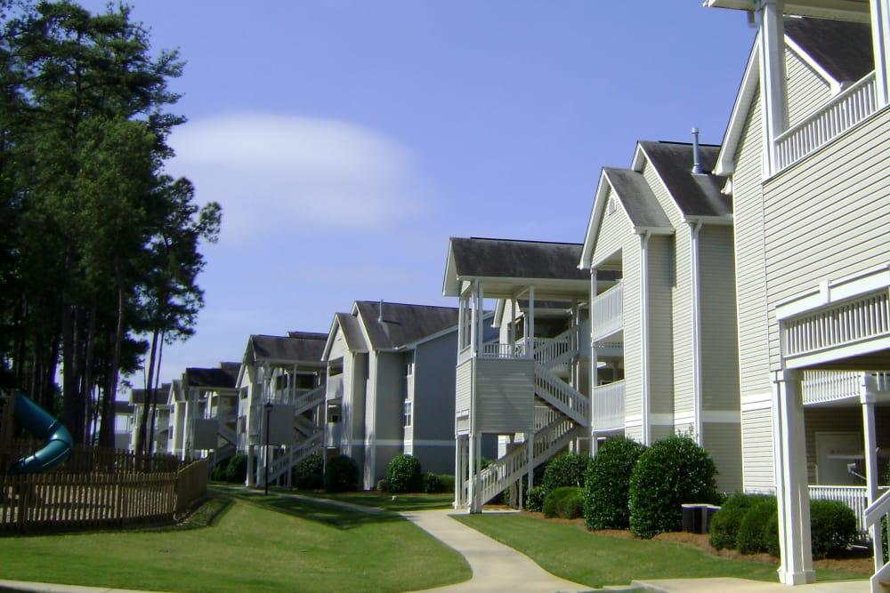 Huntington Place apartment exterior