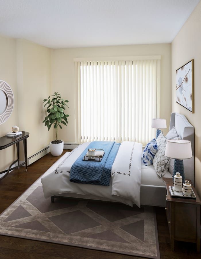 Beautiful bedroom at Saskatoon Tower in Saskatoon