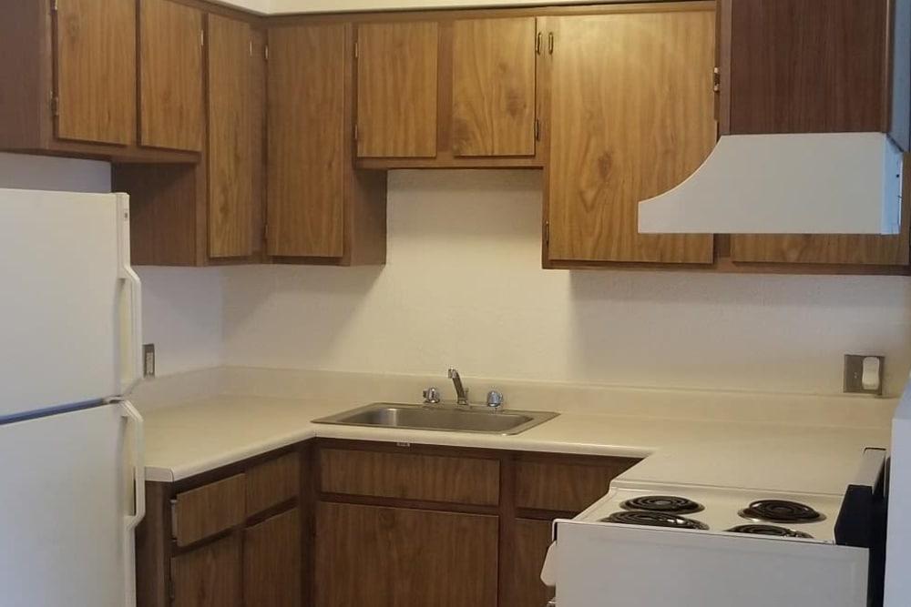 Kitchen at Tamarin Square in Durango, Colorado