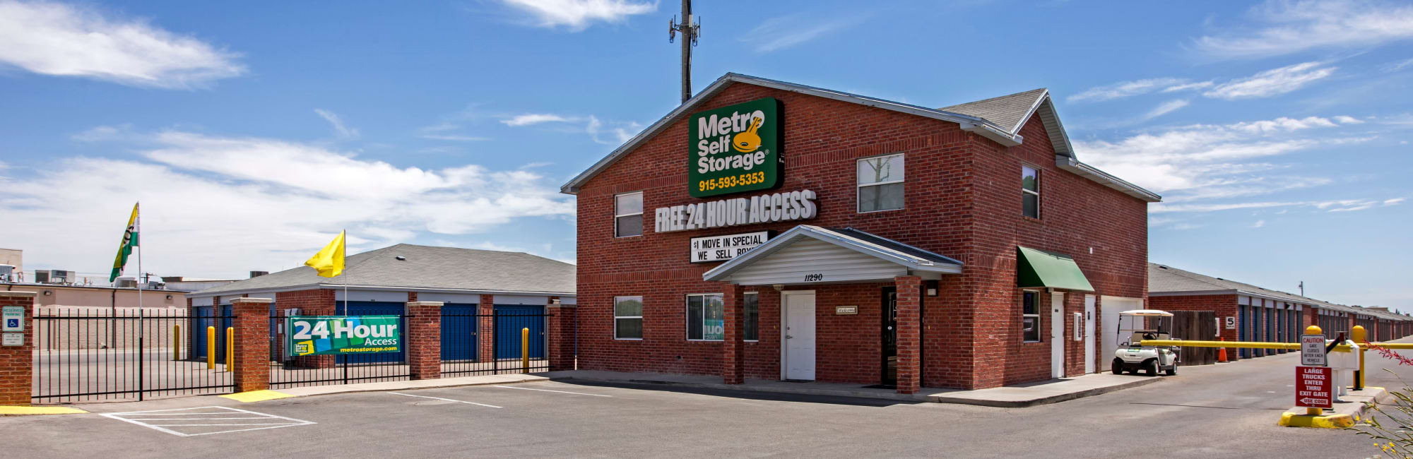 Metro Self Storage in El Paso, TX