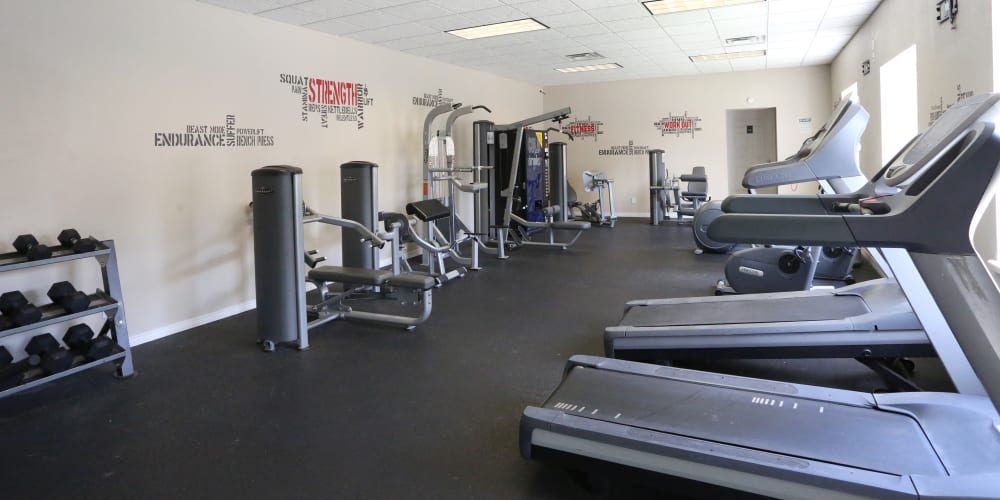 Gym area at Sterling Park in Norman, Oklahoma.