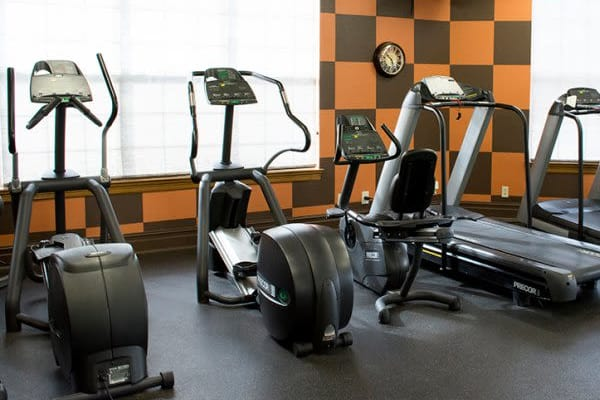 Fitness center at Stonehaven Villas in Tulsa, Oklahoma