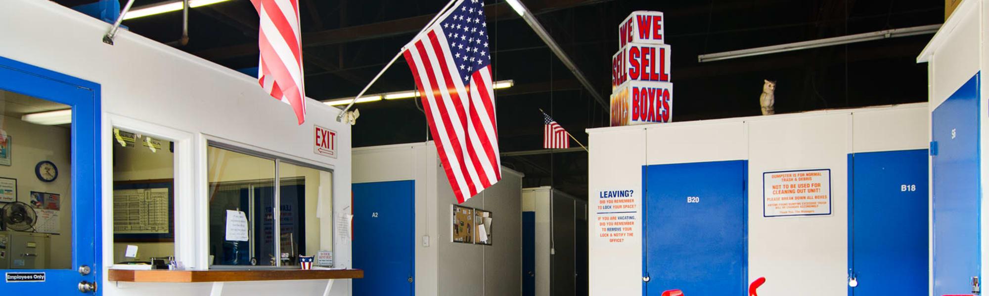 A-American Self Storage in Santa Barbara, California