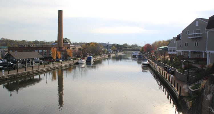 Waterfront in Fairport, NY