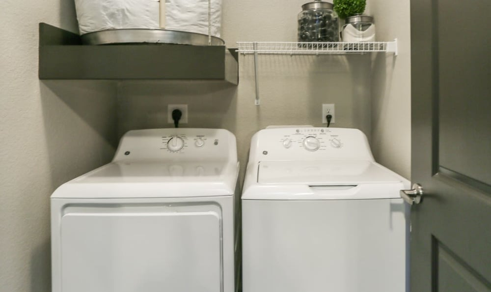 In Home Washer and Dryer at Springs at Cottonwood Creek Apartments
