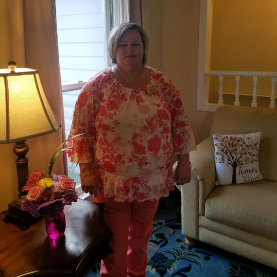 Tracy McGoy at Savannah Court of Milledgeville in Milledgeville, GA